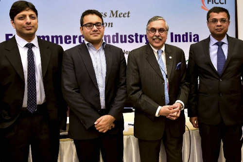 CEOs of Snapdeal, Amazon and Flipkart