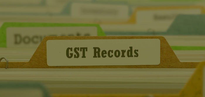 Records to be maintained under GST